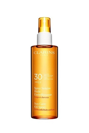 Clarins Clarins Sun Care Oiln Spray UVB/A 30Spf 150 ML Renkli